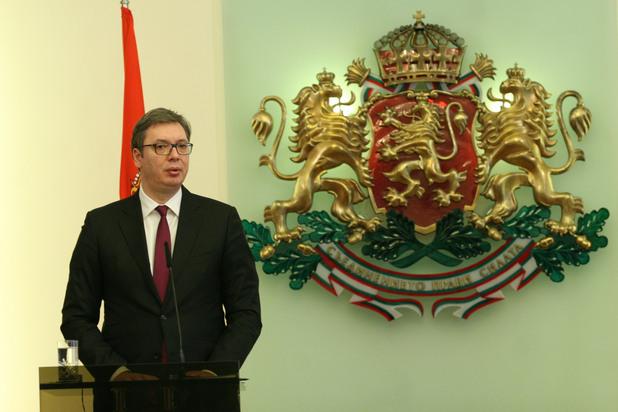 Александър Вучич в София