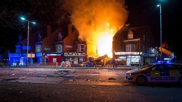 Експлозия в Лестър
