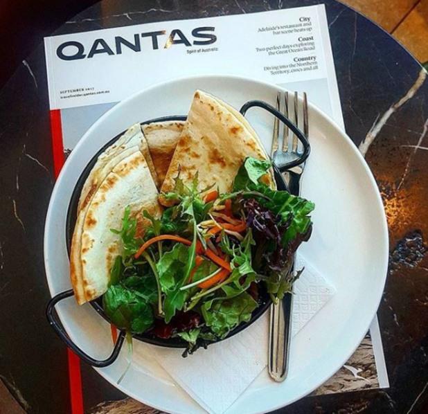 qantas, бизнес класа