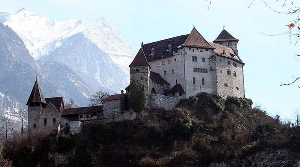 Замъкът Гутенберг в Лихтенщайн