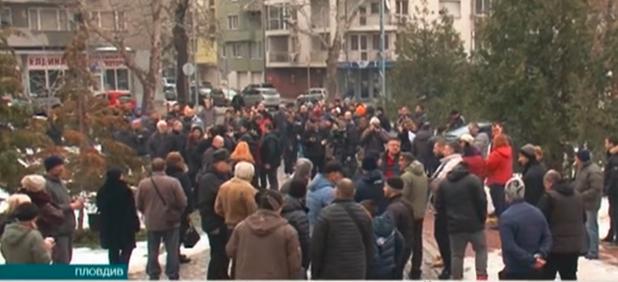 Протест в защита на доктор, убил крадец