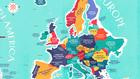 Имената на държавите в Европа