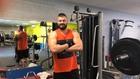 Бареков във фитнеса