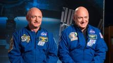 Космонавтът Скот Кели и неговия брат