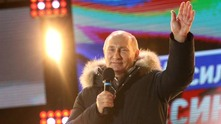 Путин празнува изборната победа