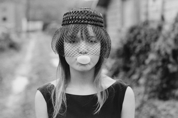 """""""Малката"""" пука балонче (от """"Живот на улицата""""), Сиатъл, 1983"""