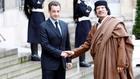Саркози и Кадафи