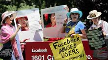 facebook, протест, лични данни