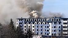 студентски град, пожар в студентски град