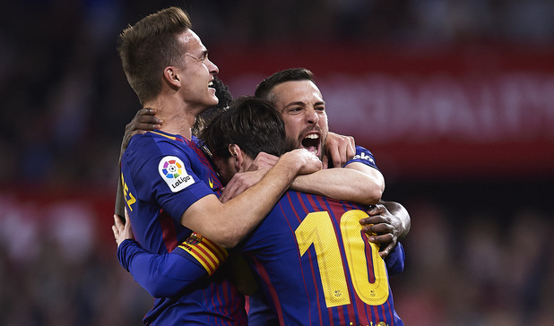 Севиля - Барселона 2:2