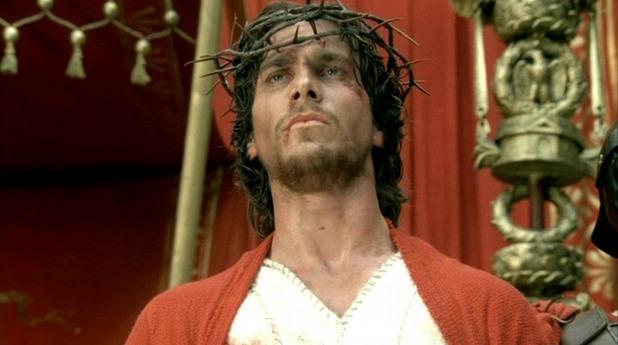 Крисчън Бейл като Исус Христос