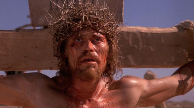 Уилям Дефо като Исус Христос