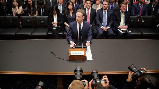 Марк Зукърбърг пред комисията за търговия и енергия към американския Конгрес