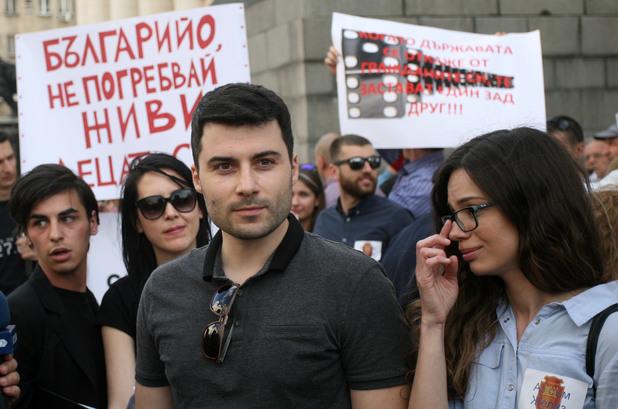 желяз андреев, протест в защита на желяз андреев