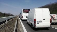 "Задръстване на автомагистрала ""Тракия"""