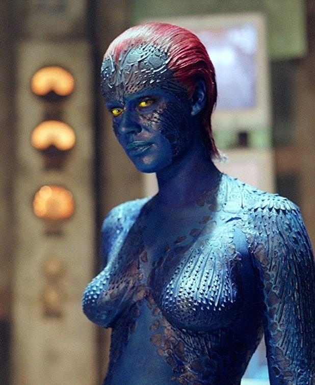 """Ребека Ромин в """"X-Men 2"""""""