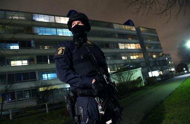 Шведски полицай