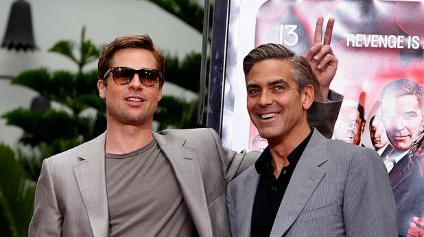 Брад Пит и Джордж Клуни