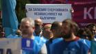 """протест на миньори от мини """"марица изток"""""""