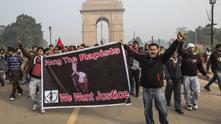 Протести срещу изнасилванията в Индия