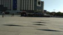 Плочки пред НДК