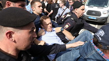 навални, алексей навални, арест на навални