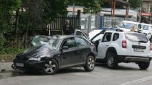 катастрофа в района на околовръстното шосе