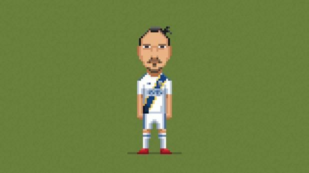 8-битов футбол, пиксели, футбол, 8 бита 4
