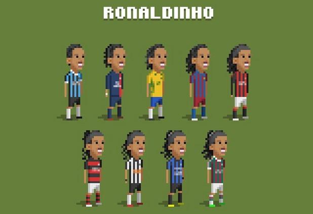8-битов футбол, пиксели, футбол, 8 бита 6