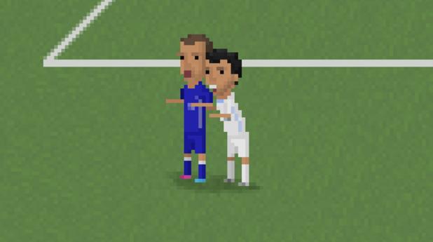 8-битов футбол, пиксели, футбол, 8 бита 11
