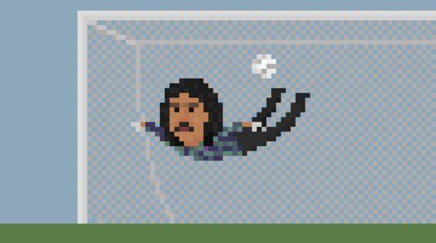 8-битов футбол, пиксели, футбол, 8 бита13