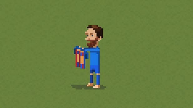 8-битов футбол, пиксели, футбол, 8 бита 16