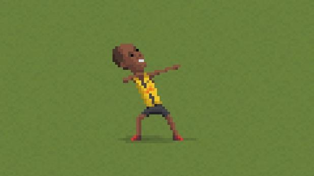 8-битов футбол, пиксели, футбол, 8 бита 19