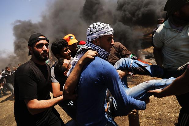 сблъсъци между палестинци и израелските войски