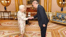 кралица елизабет, реджеп ердоган