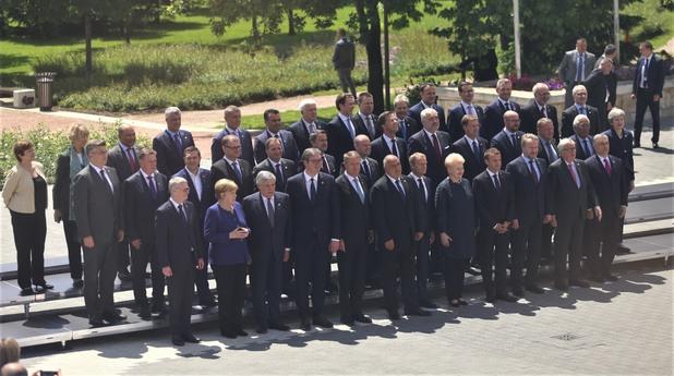 среща на лидерите на ес и западните балкани