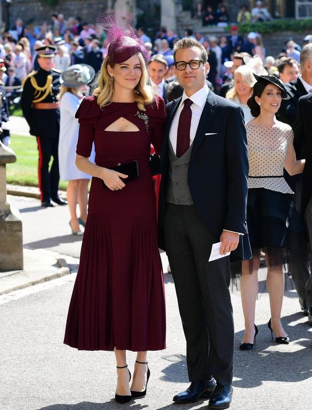 гейбриъл махт, костюмари, кралска сватба