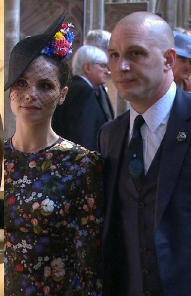 том харди, кралска сватба