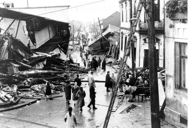Резултат с изображение за Мощно земетресение в Перу и Чили