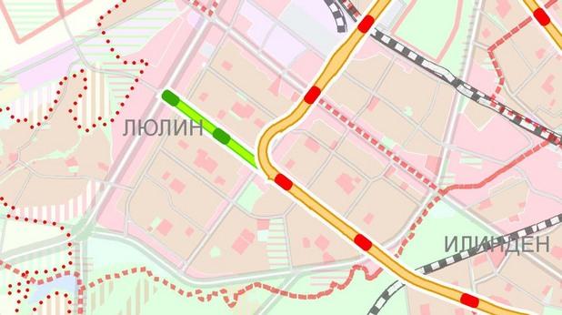 Карта с плана за развитие на столичното метро