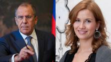 Екатерина Винокурова - дъщеря на външния министър на Русия Сергей Лавров