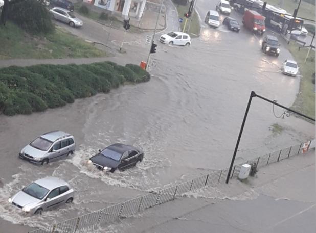 варна - наводнение