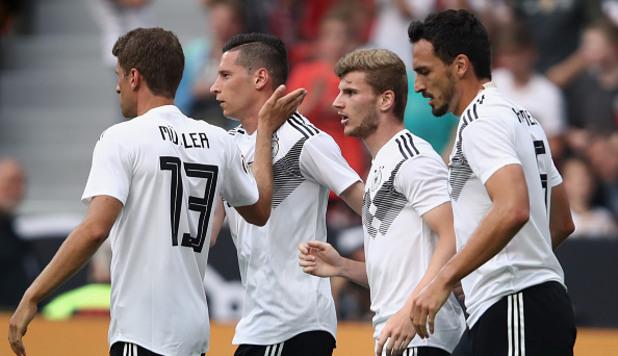 Германия - Саудитска Арабия