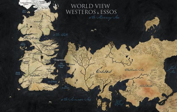 карта на вестерос и есос