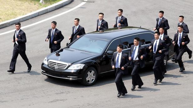 охрана на ким чен ун, ким чен ун охрана, северна корея бодигардове