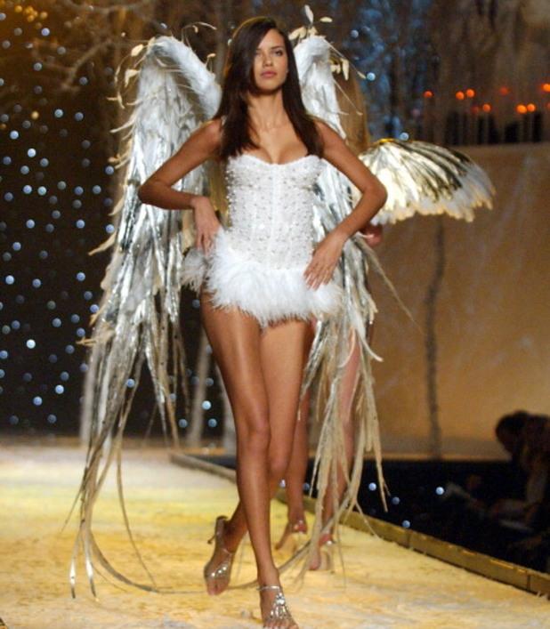 адриана лима, ангел на victorias secret