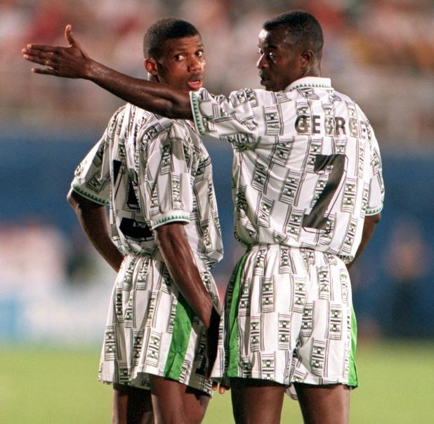 Нигерия на САЩ 94