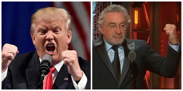 Доналд Тръмп срещу Робърт Де Ниро