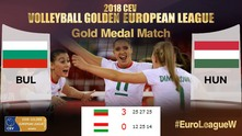 България печели Златната европейска лига