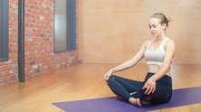 йога, жена йога, спорт, медитация